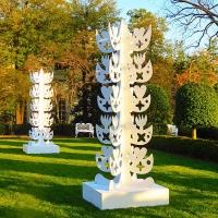 Csicsko White House 2 WHITE TREES 1ST LADY'S GARDEN CSICSKO©201